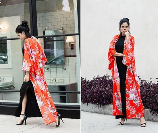 Como usar quimono?
