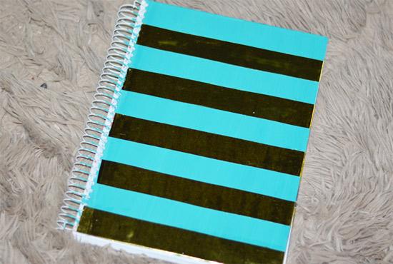 Como customizar cadernos