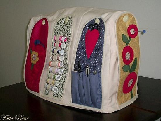 Inspiração: capa para máquina de costura