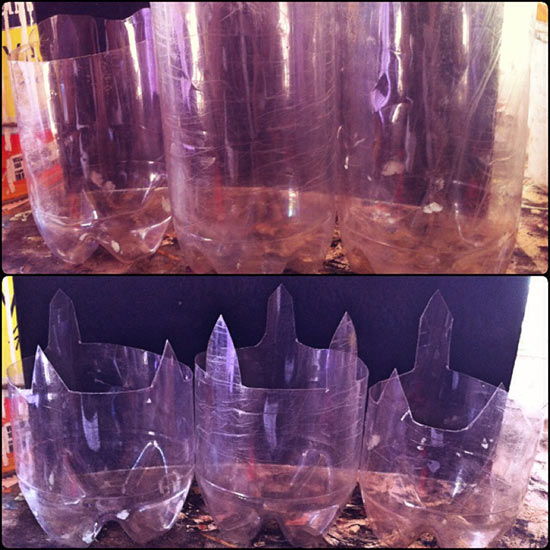 Como fazer vasinho de garrafa pet