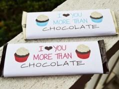 Confira ideias criativas de como presentear com chocolate no dia dos namorados.
