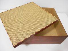 Como fazer caixa de madeira - falsa marchetaria