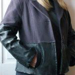 Como fazer casaco novo usando 2 casacos de frio