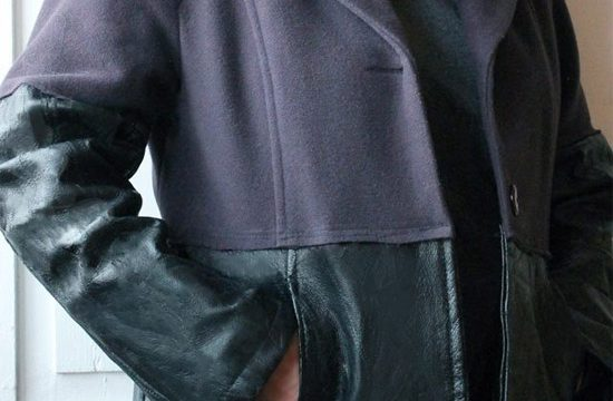Customizando casaco de frio