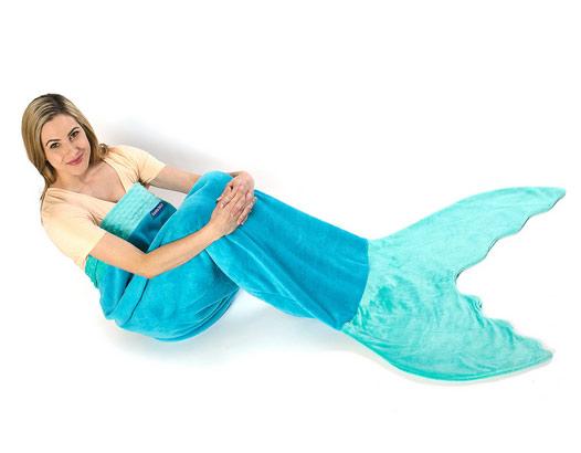 Como fazer cobertor de sereia