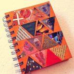 Como customizar caderno com recortes de revistas