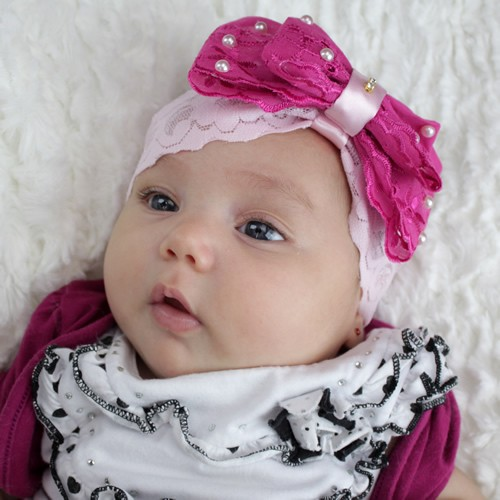 Aprenda a fazer lindas tiaras para beb s customizando - Colchon para cambiador de bebe ...
