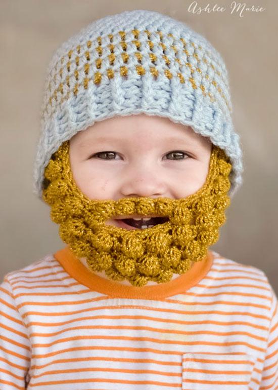 Inspiração: toucas de frio divertidas para crianças