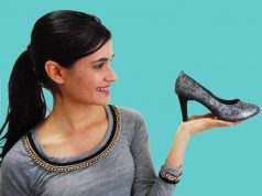 customização de sapato
