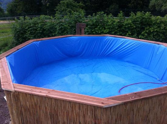 Como fazer piscina com pallets