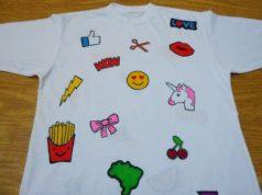 Como fazer camiseta com patches