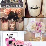 Como fazer decoração inspirada na Chanel