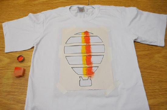 como-customizar-camiseta-pintura-balo-estencil-diy-6