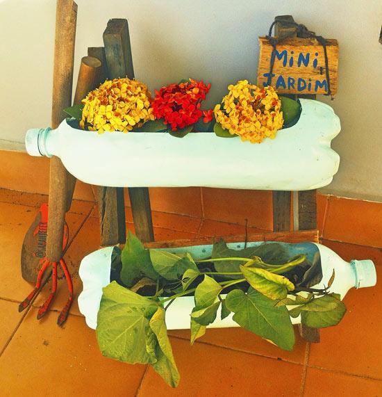 Como fazer mini jardim