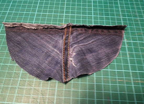 Como fazer remendo em calça jeans rasgada entre as pernas