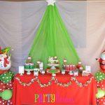 Inspiração: decoração de festa com tema natal