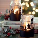 8 Ideias de decoração de natal com velas