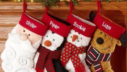 Ideias de decoração de natal com meias