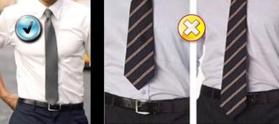 Dicas para usar gravata - como escolher a gravata certa para cada ocasião - comprimento correto para gravata