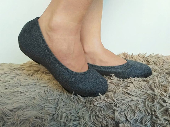 Modelo capa de sapato sapatilha