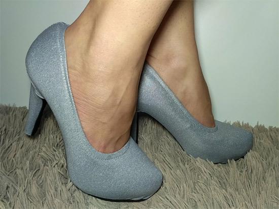 Modelo capa de sapato slin