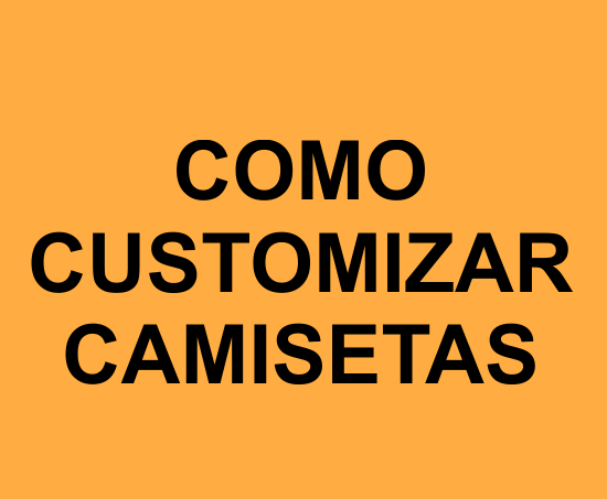 Como customizar camisetas