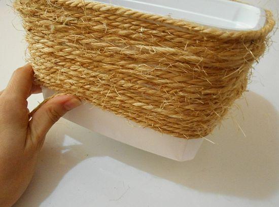 Como reaproveitar pote de sorvete e transformar em cachepô para plantas