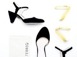Sapato troca acessórios