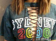Inspiração: camisetas customizadas com ilhós