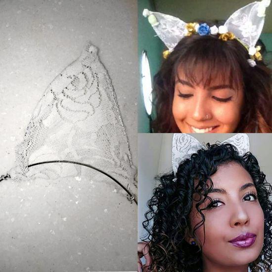 Como fazer tiara de orelhinha