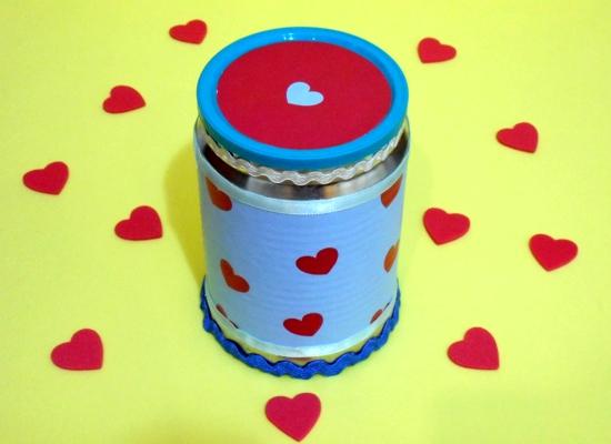 Lata surpresa para o Dia dos Namorados