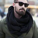 Moda: cachecol masculino