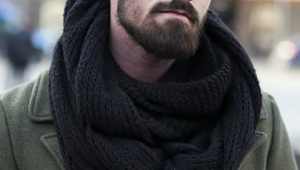 Como usar cachecol masculino