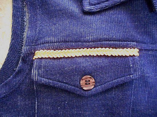 Como customizar colete fácil