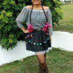 Como customizar saia para festa junina ou julina