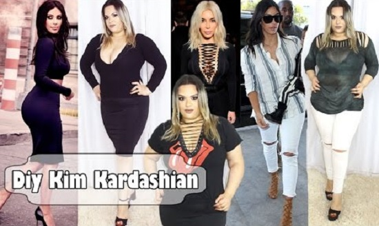Como fazer roupas inspiradas na Kim Kardashian