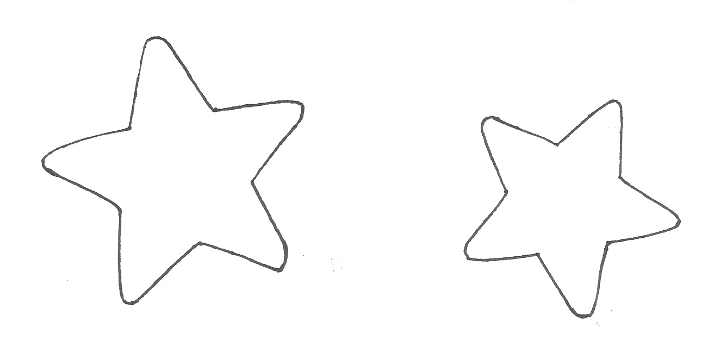 Moldes de estrelas 2 | CUSTOMIZANDO.NET - Blog de ...