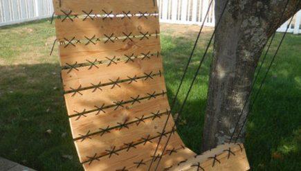 Como fazer balanço com pallets e corda