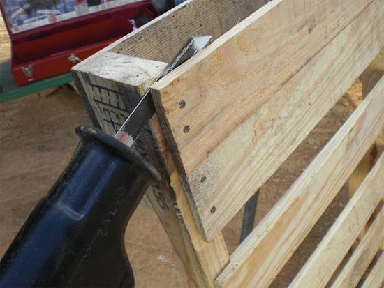 Como fazer balan o com pallets e corda customizando net - Cortar pizarra en casa ...