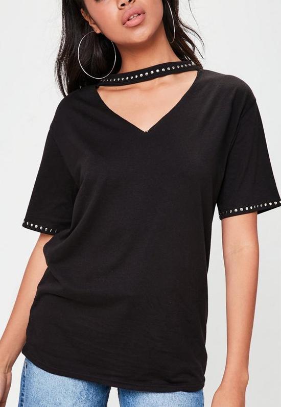 Ideias de camisetas choker como fazer