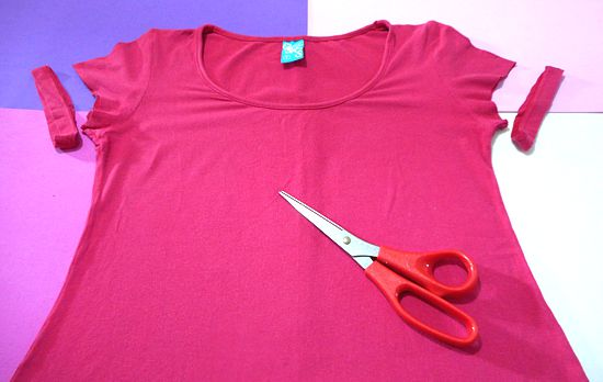 Como customizar camiseta feminina