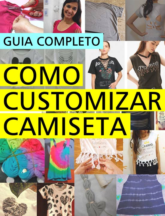 Como Customizar Camiseta