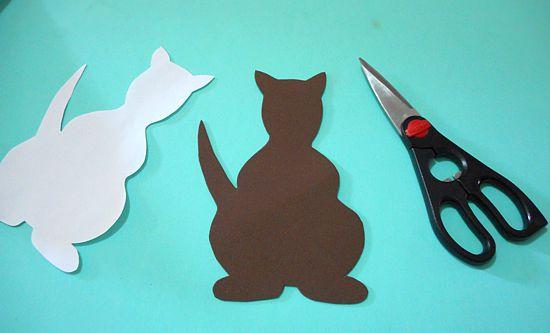 Como fazer artesanato para crianças: canguru de EVA com filhotes