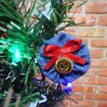 Como fazer enfeite de árvore de natal com jeans