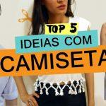 5 ideias para customizar camiseta