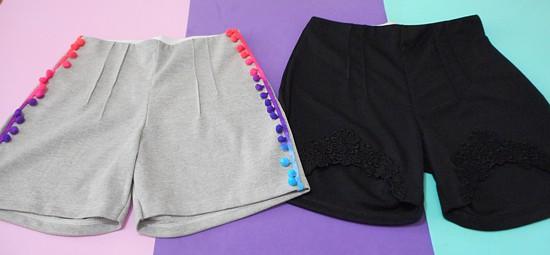 Como customizar shorts - 2 ideias fáceis