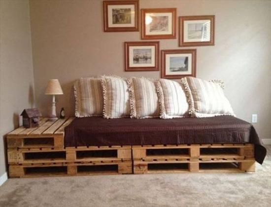 Como fazer sofá de pallets