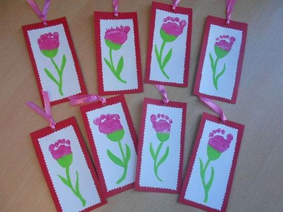 Ideia de cartão para dia da mulher