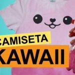 Como fazer camiseta kawaii