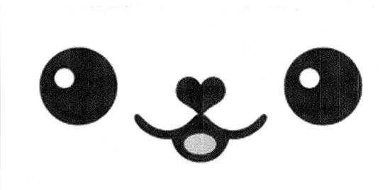 Molde carinha Kawaii